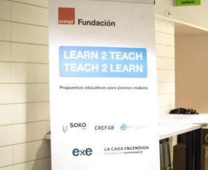 logo learn2teach teach2learn
