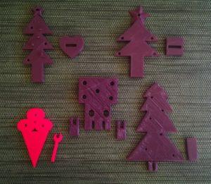 impresión 3d figuras