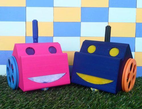 (2/3) Programa a D_BOT, uno de nuestros robots educativos.