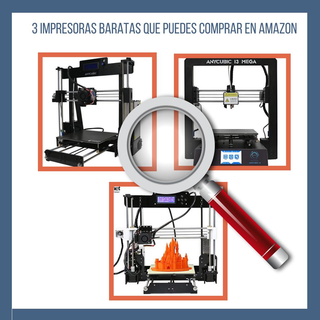 3 impresoras baratas que puedes comprar en amazon