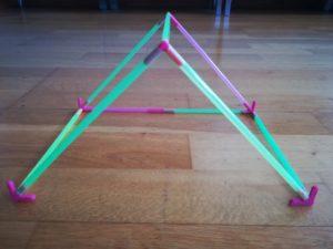 estructura pajitas
