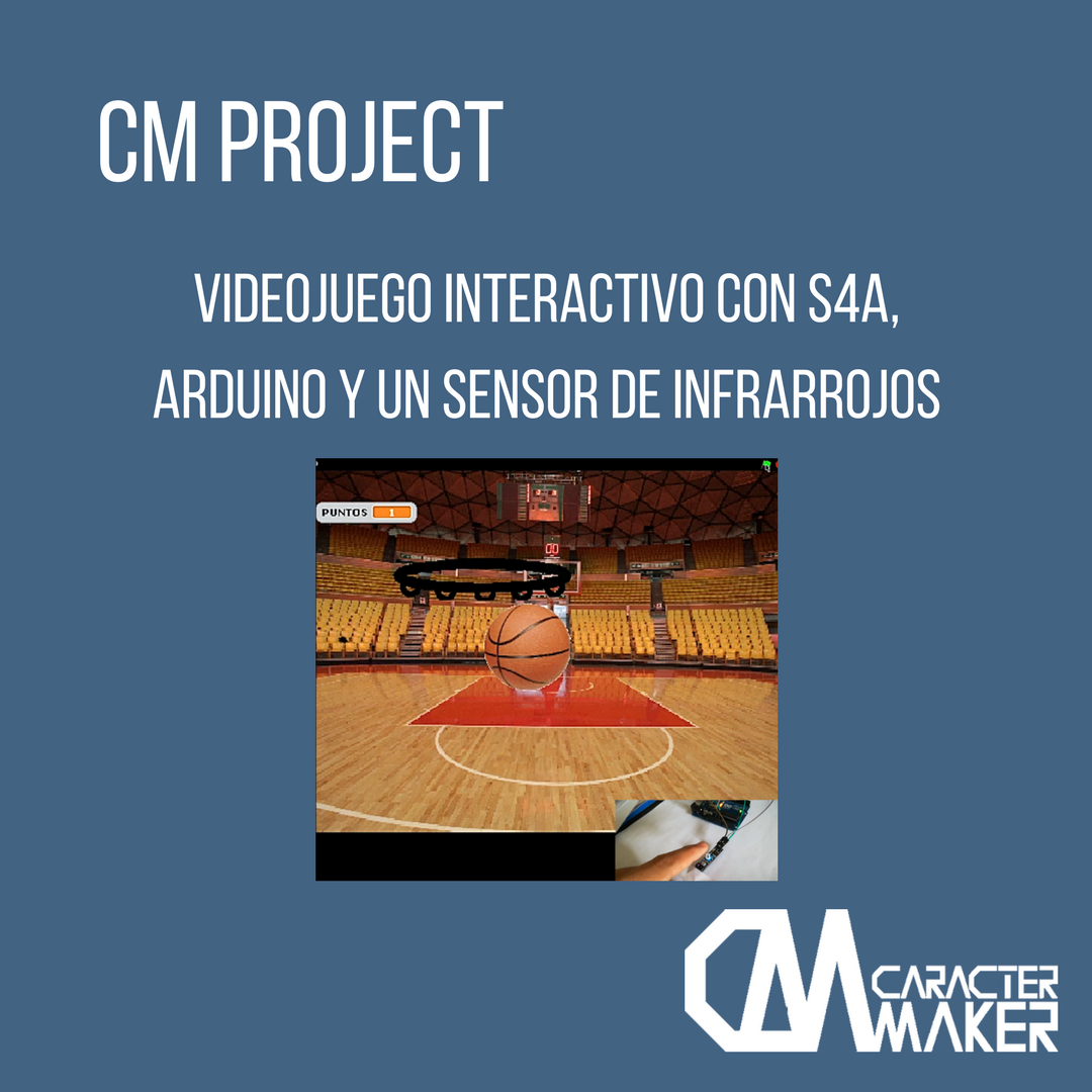 Videojuego interactivo con arduino y S4A