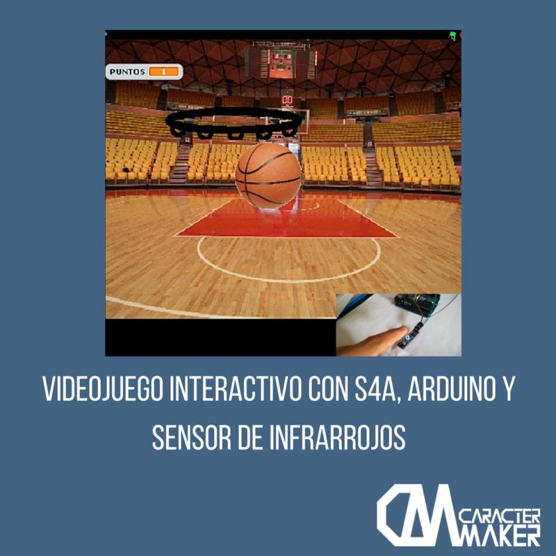 videojuego interactivo con S4A y Arduino