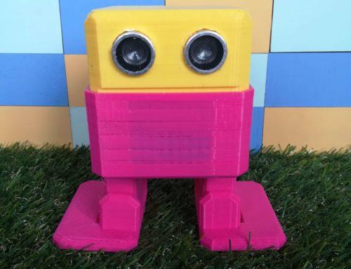 Otto, el robot marchoso.