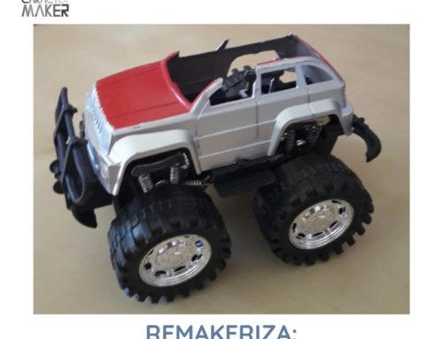 ReMakeriza: aprovecha un juguete roto