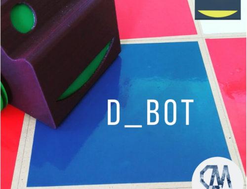 "D_BOT ""pequeño dibujante"": Programación y Firmware"