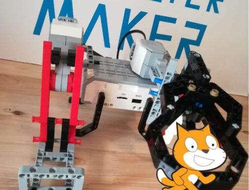 LEGO MINDSTORMS Y SCRATCH 3.0: Conexión y programación básica.