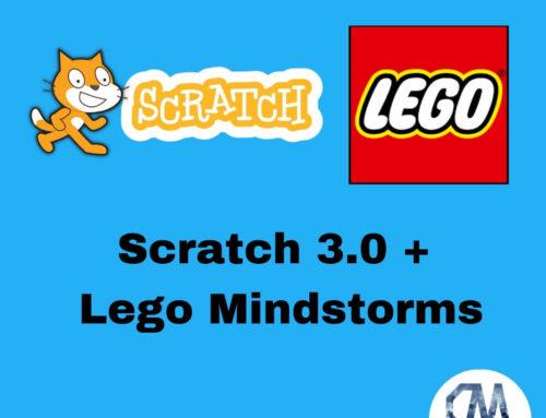 Controlar Lego Mindstorms con el sensor de vídeo de Scratch.