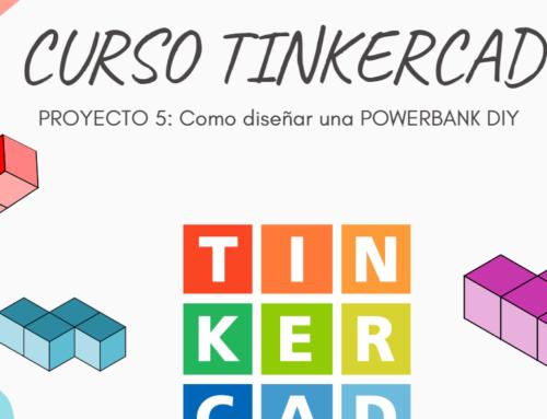 CURSO TINKERCAD PROYECTO 5(3-3): Como diseñar una Powerbank DIY