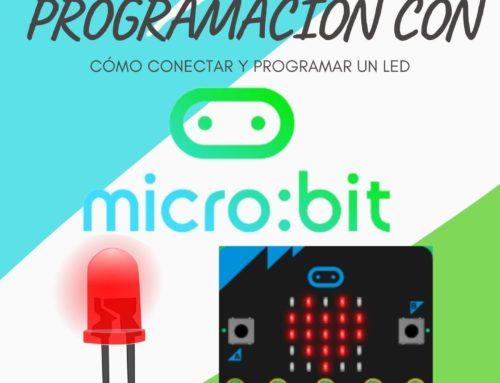 Cómo conectar y programar un LED con Micro:bit