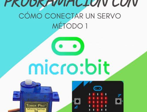 Conectar un Servo a Micro:Bit: Método 1