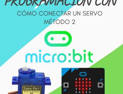 Conectar un Servo a Micro:Bit: Método 2