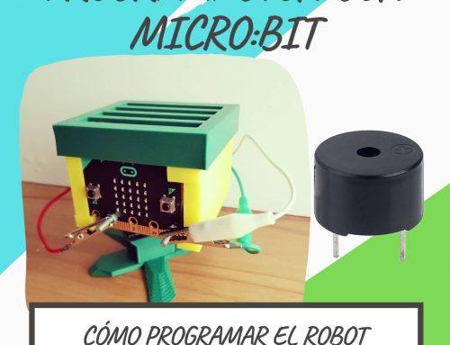 PROGRAMAR EL ROBOT MICRO:BIT/MAKECODE (II): AÑADIR SONIDO