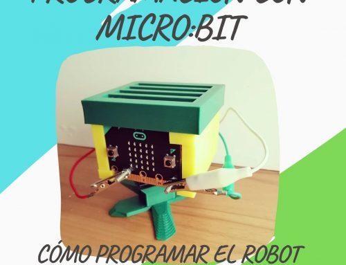 Cómo programar el robot MICRO:BIT con MAKECODE