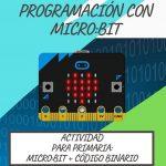 Actividad MicroBit + código binario