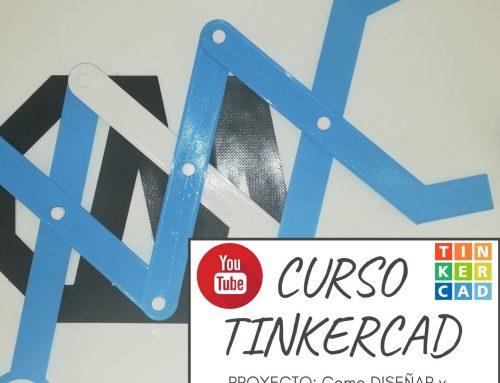 Cómo Diseñar en TINKERCAD UNAS PINZAS TELESCÓPICAS