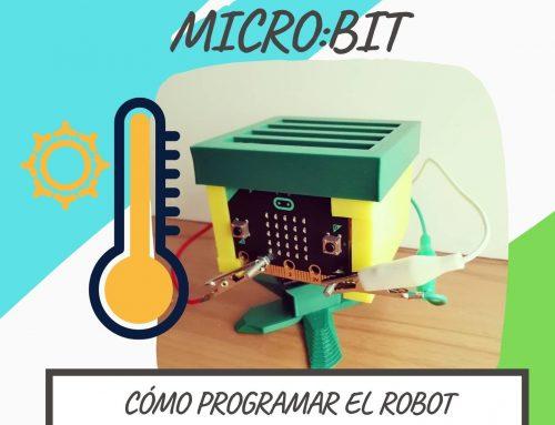 Cómo MEDIR LA TEMPERATURA con el ROBOT MICRO:BIT