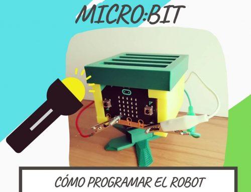 Cómo controlar al ROBOT MICROBIT con una LINTERNA