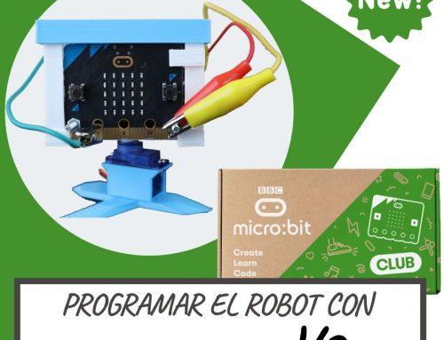 Como programar el robot con MICRO:BIT V2  | MAKECODE