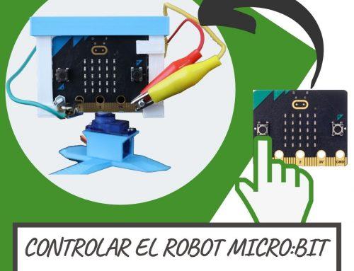 Cómo controlar el ROBOT MICROBIT por RADIO  | MAKECODE