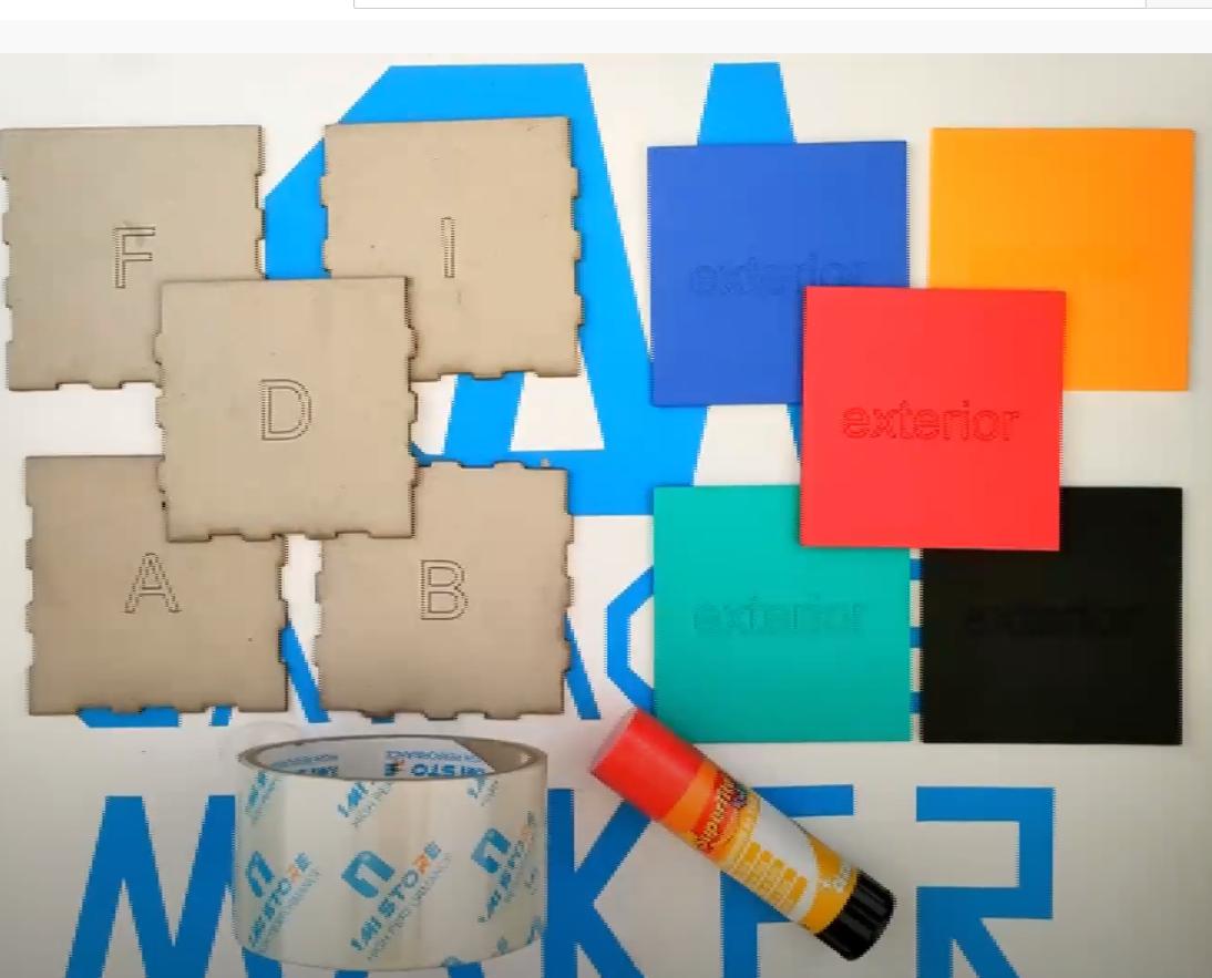 materiales para hacer caja de cartón personalizada
